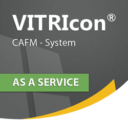 CAFM Software VITRIcon® als Service (SaaS)